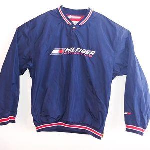 Vintage 90s Hilfiger Athletics Pullover Jacket Sz